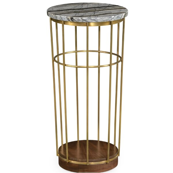 Round End Table By Jonathan Charles Fine Furniture