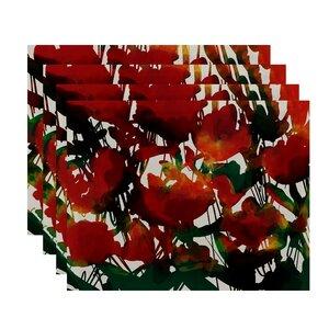 Kam Flora Print Placemats (Set of 4)
