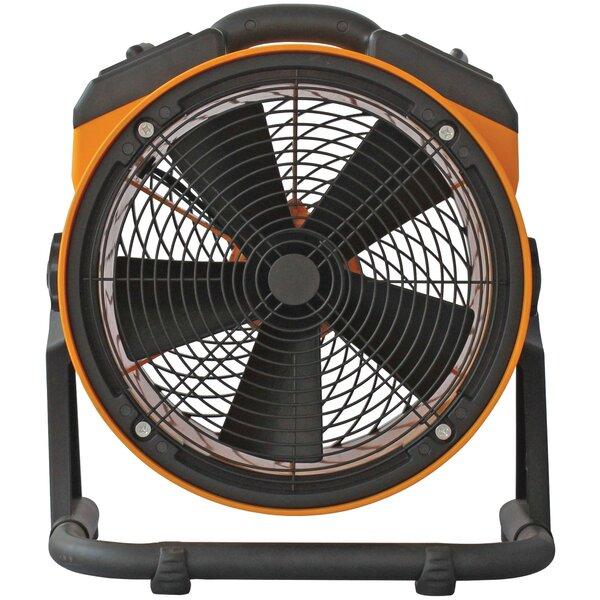 4-Speed Pro Air Circulator Floor Fan by XPOWER