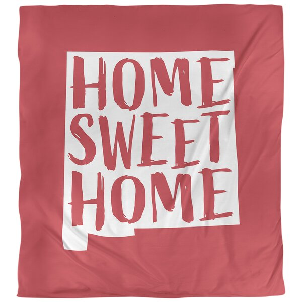 Home Sweet New Mexico Duvet Cover