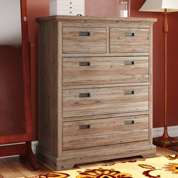 Elise 5 Drawer Dresser by Grovelane Teen