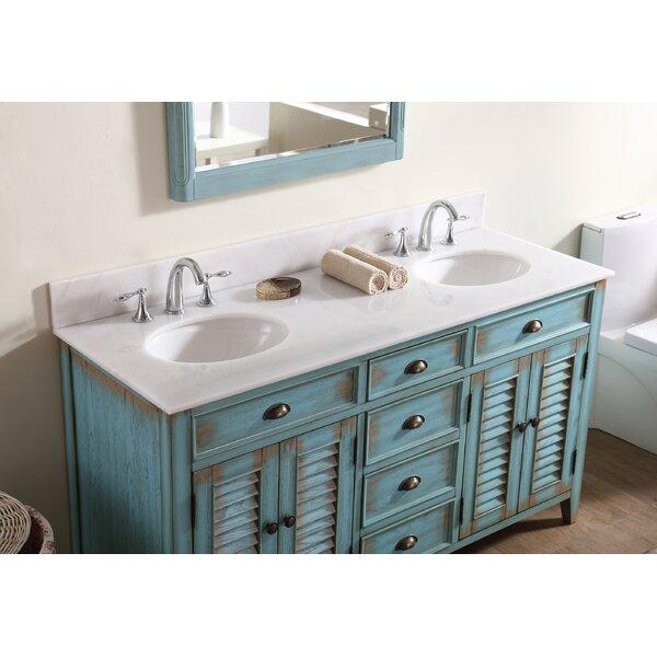 Foret 60 Double Bathroom Vanity Set by Lark Manor