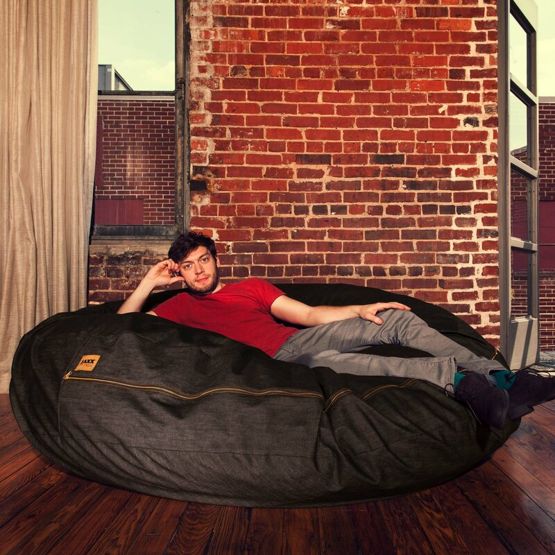 Denim Cocoon 6' Bean Bag Chair