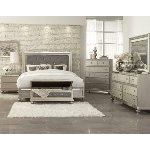 Grissett Standard 4 Piece Bedroom Set by House of Hampton