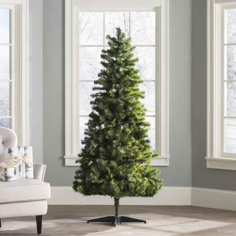 Artificial Christmas Tree Warehouse: Wayfair Basics™ 6' Green Fir Artificial Christmas Tree