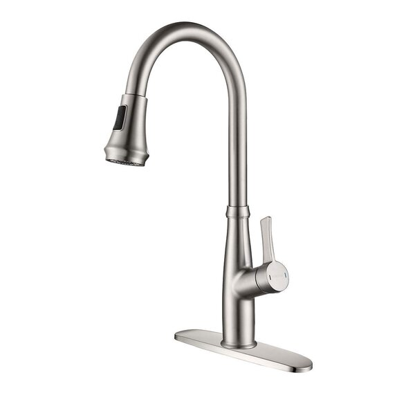 Pull Down Single Handle Kitchen Faucet by MODLAND MODLAND