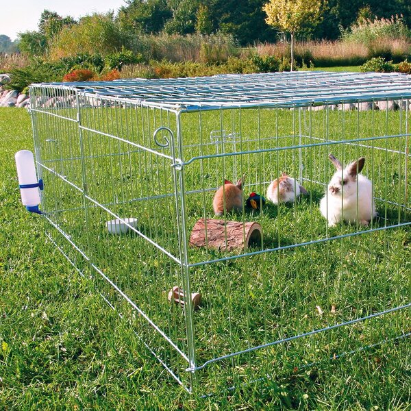 Freddy Rabbit Cage with Outdoor Run by Archie & Oscar
