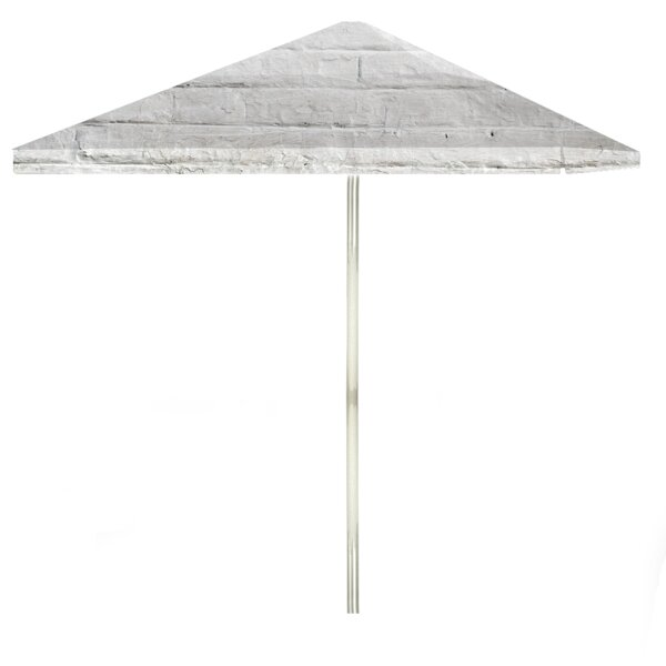 Cinderblock 6' Square Market Umbrella by Best of Times