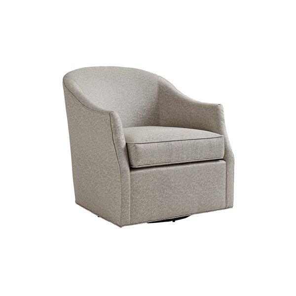 Review Ariana Swivel Barrel Chair