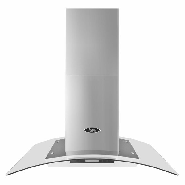 36 900 CFM Ducted Island Range Hood by LessCare