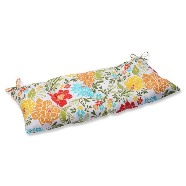 Wiktoria Indoor/Outdoor Loveseat Cushion