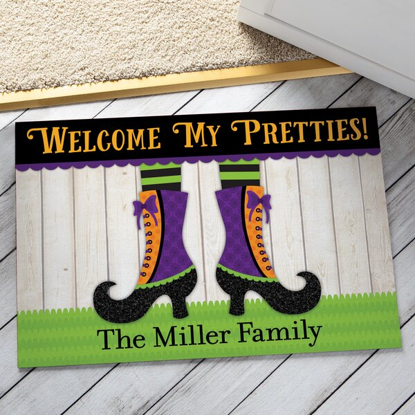 Welcome My Pretties Personalized Doormat by CPS