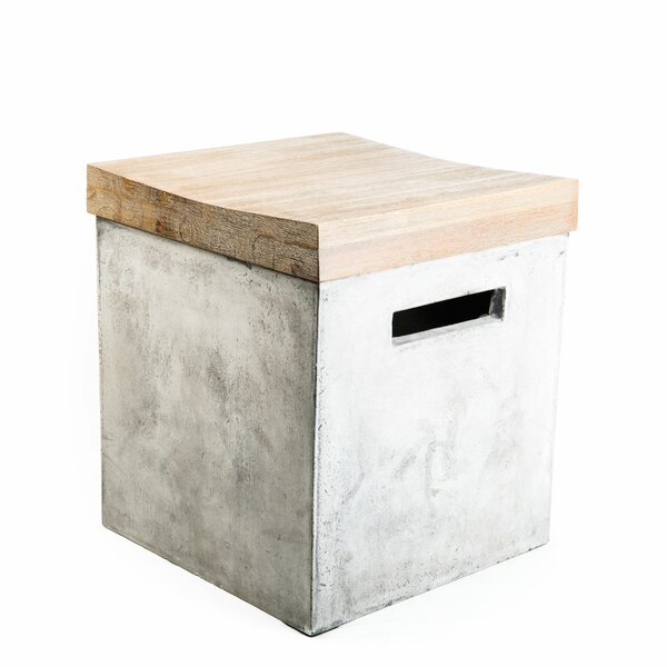 Eco-concrete Cabana Stool by My Spirit Garden