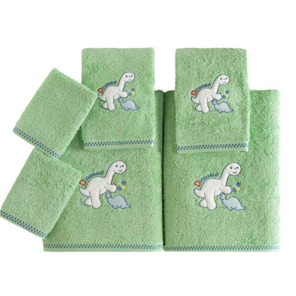 Kids 6 Piece Turkish Cotton Towel Set by Makroteks Textile L.L.C.