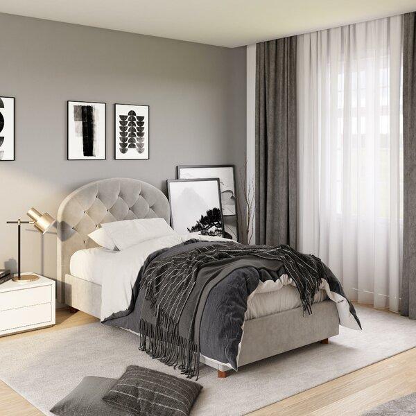 Leonaldo Upholstered Platform Bed by Winston Porter