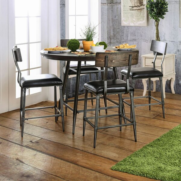 Ponce 5 Piece Dining Set by 17 Stories