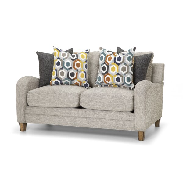 Valuable Quality Faughil Loveseat by Latitude Run by Latitude Run