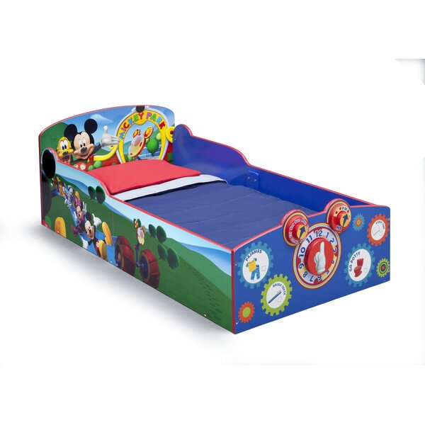 Mickey Mouse Toddler Bed by Delta Children