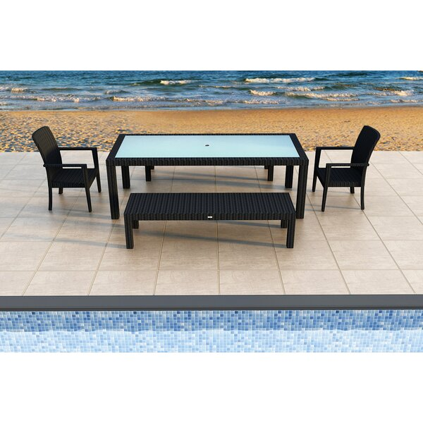 Azariah 5 Piece Sunbrella Dining Set by Orren Ellis