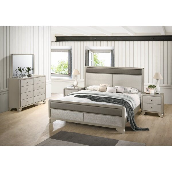 Yates Panel 4 Piece Bedroom Set by Rosdorf Park