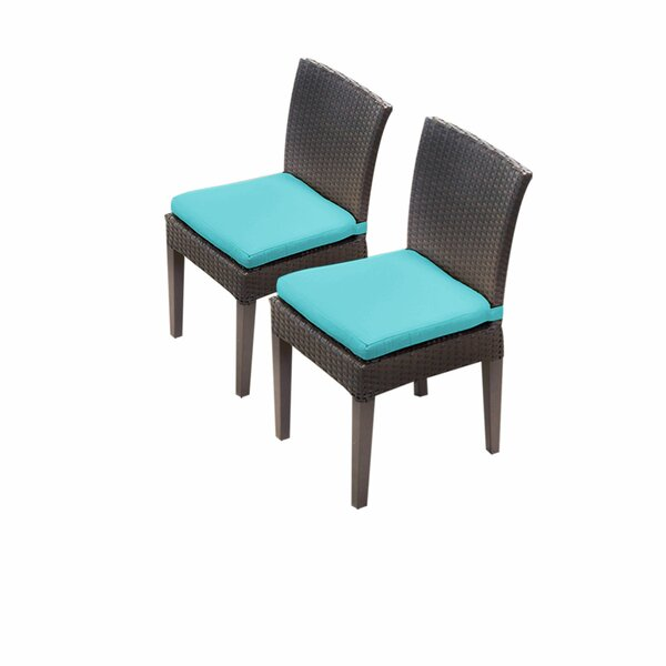 Tegan Patio Dining Chair with Cushion (Set of 2) by Sol 72 Outdoor