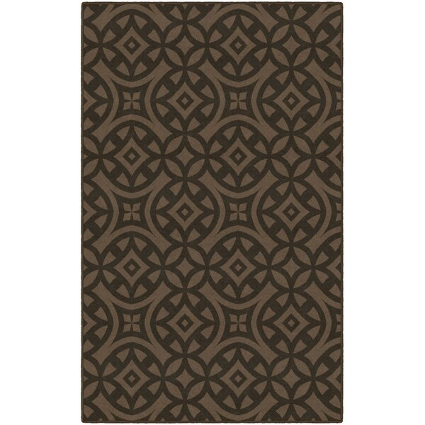 Merchant Trellis Brown Area Rug by World Menagerie