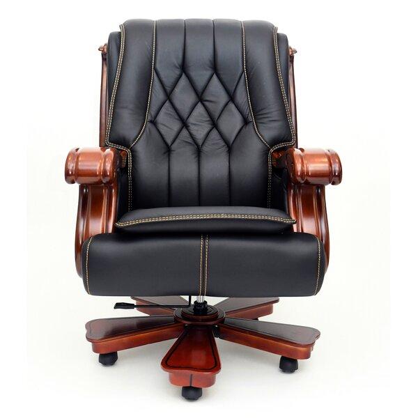 Korth Ergonomic Genuine Leather Executive Chair