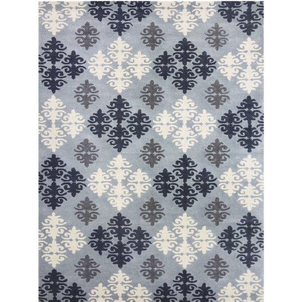 Kaydence Hand-Tufted Blue Area Rug by Ophelia & Co.