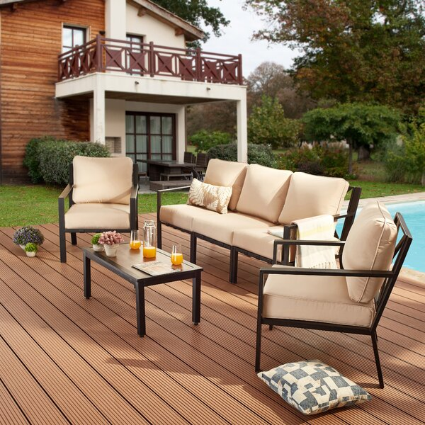 Keats 6 Piece Sofa Seating Group with Cushions by Red Barrel Studio