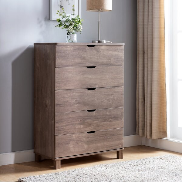 Whyte 5 Drawer Chest by Foundry Select