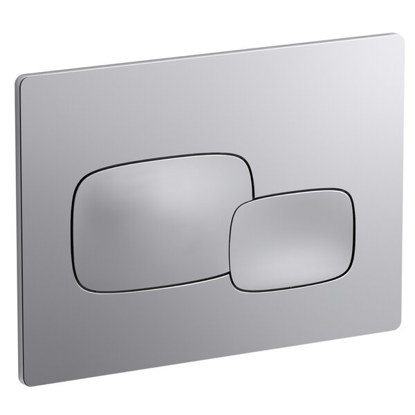 Pebble Flush Actuator Plate by Kohler