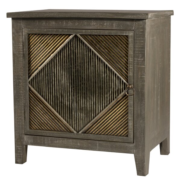 Alcanza End Table with Storage by Bungalow Rose