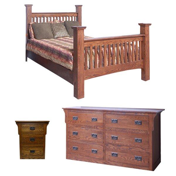 Aske Queen Panel Configurable Bedroom Set by Millwood Pines