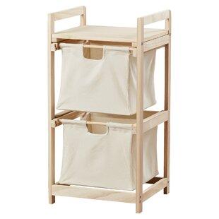 2 Drawer Laundry Sorter ByRed Barrel Studio