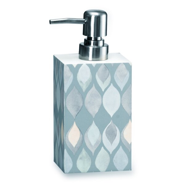 Shell Rummel Sea Glass Lotion Dispenser by Popular Bath