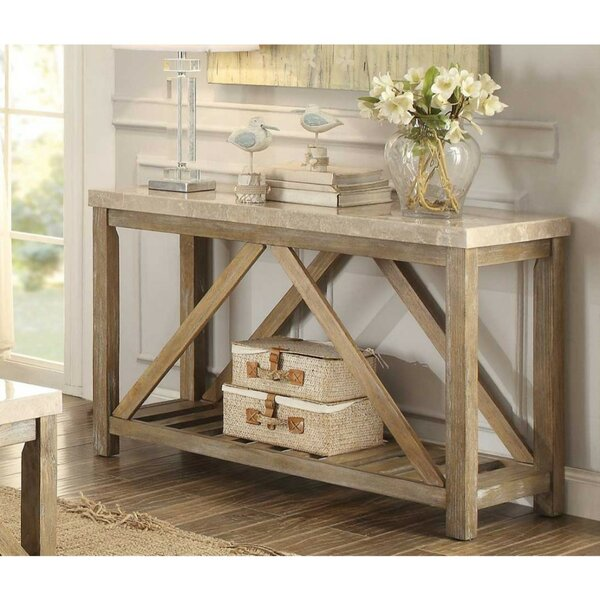 Ischua Rectangular Wooden Console Table By Gracie Oaks