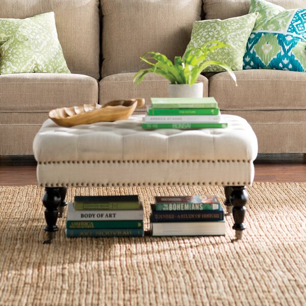 Rittenhouse Tufted Coffee Ottoman By Willa Arlo Interiors
