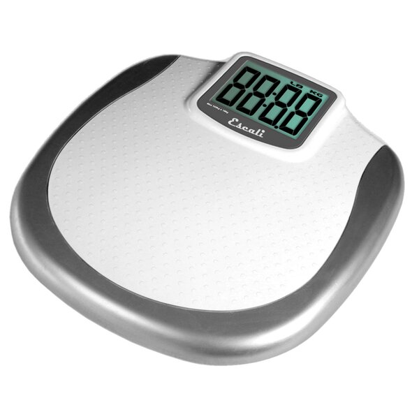 Extra Large Display Bathroom Scale by Escali