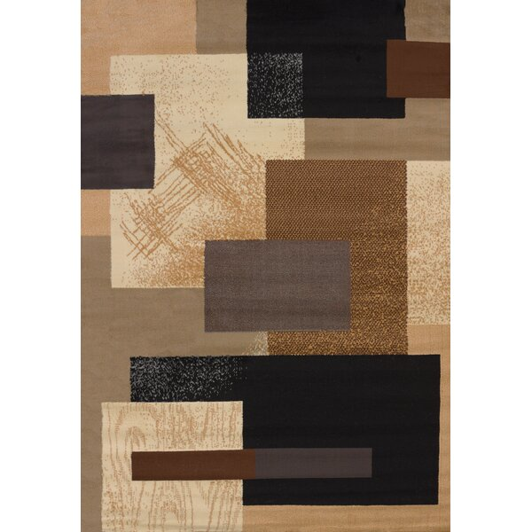 Queenstown Brown Area Rug by Latitude Run