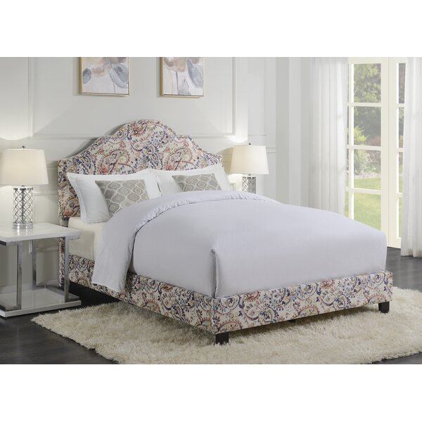 Hickey Queen Upholstered Standard Bed by Charlton Home