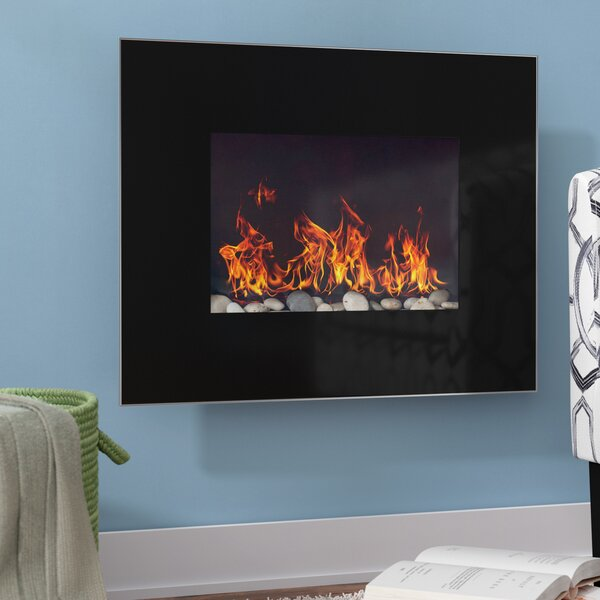 Bartlow Wall Mounted Electric Fireplace by Ebern Designs Ebern Designs
