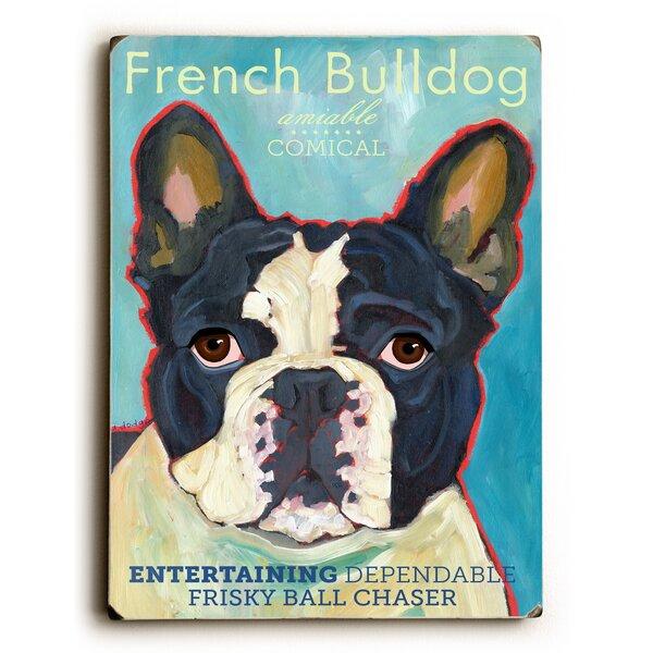 French Bulldog Vintage Advertisement by Artehouse LLC