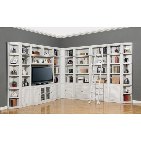 Veda Library Bookcase By Beachcrest Home