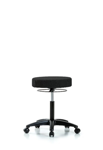 Poppy Height Adjustable Lab Stool by Symple Stuff