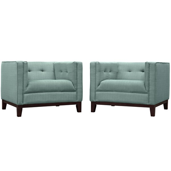 Tennille Armchair (Set of 2) by Modern Rustic Interiors