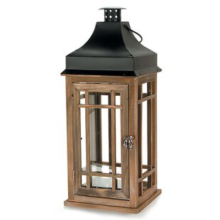Great choice Stain Wood Lantern By Loon Peak