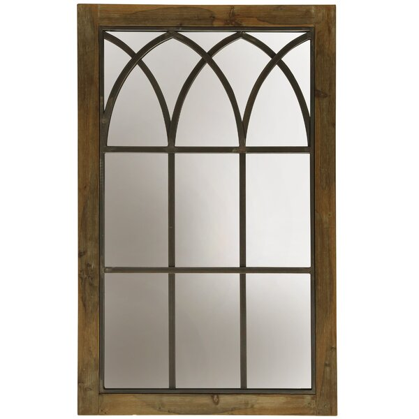 Fairgrove Window Panel Farmhouse Wall Accent Mirror by Gracie Oaks