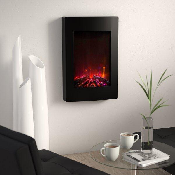 Nadya Wall Mounted Electric Fireplace by Orren Ellis Orren Ellis