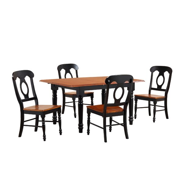 Danger 5 Piece Dining Set by Loon Peak