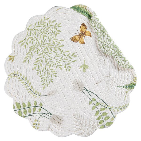 Papillion Placemat (Set of 6) by C&F Home